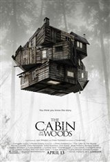 The Cabin in the Woods Movie Poster Movie Poster