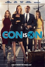 The Con is On Movie Poster Movie Poster