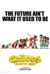 The Croods: A New Age Affiche de film
