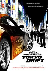 The Fast and the Furious: Tokyo Drift Movie Poster Movie Poster