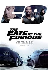 The Fate of the Furious Affiche de film
