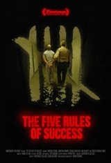 The Five Rules of Success Large Poster