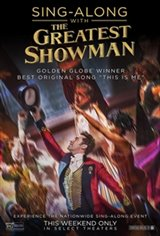The Greatest Showman Sing-Along Affiche de film