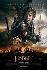 The Hobbit: The Battle of the Five Armies 3D Movie Poster