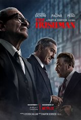 The Irishman (Netflix) Movie Poster