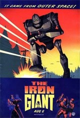 The Iron Giant - Family Favourites Movie Poster