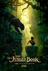 The Jungle Book 3D Movie Poster