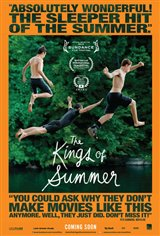 The Kings of Summer Movie Poster Movie Poster