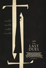 The Last Duel Affiche de film