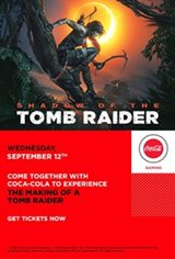 The Making of a Tomb Raider presented by Coca-Cola Affiche de film