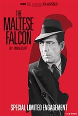 The Maltese Falcon 80th Anniversary presented by TCM Movie Poster