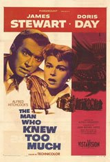 The Man Who Knew Too Much Movie Poster