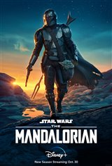 The Mandalorian (Disney+) Movie Poster