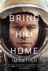 The Martian 3D Movie Poster