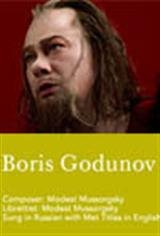 The Metropolitan Opera: Boris Godunov (Encore) Movie Poster
