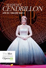 The Metropolitan Opera: Cendrillon ENCORE Movie Poster