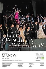 The Metropolitan Opera: Manon (2019) - Live Movie Poster