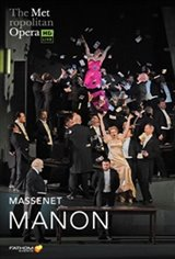 The Metropolitan Opera: Manon ENCORE Affiche de film