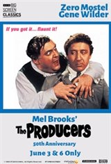 The Producers 50th Anniversary (1968) presented by TCM Movie Poster