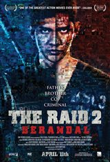 The Raid 2: Berandal Movie Poster