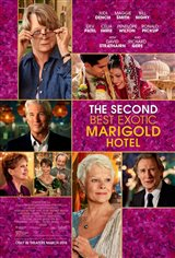 The Second Best Exotic Marigold Hotel Movie Poster Movie Poster