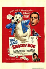 The Shaggy Dog (1959) Movie Poster