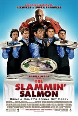 The Slammin' Salmon Movie Poster