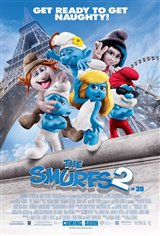 The Smurfs 2 3D Movie Poster