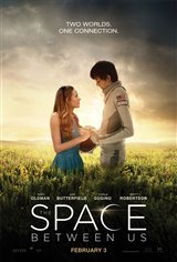 The Space Between Us Poster
