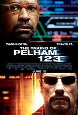 The Taking of Pelham 1 2 3 Movie Poster