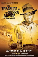 The Treasure of the Sierra Madre 70th Anniversary(1948) presented by TCM Large Poster