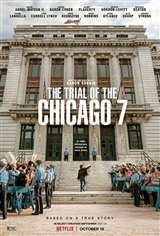 The Trial of the Chicago 7 (Netflix) Affiche de film