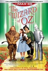 The Wizard of Oz: An IMAX 3D Experience Movie Poster