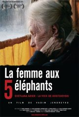 The Woman with the 5 Elephants Movie Poster