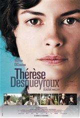Thérèse Desqueyroux Movie Poster Movie Poster