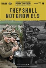 They Shall Not Grow Old Large Poster
