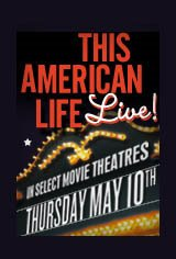 This American Life LIVE! Things You Can't Do on the Radio Movie Poster