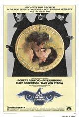 Three Days of the Condor Movie Poster
