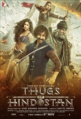 Thugs of Hindostan Large Poster