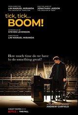 tick, tick... BOOM! (Netflix) Movie Poster