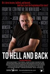 To Hell and Back: The Kane Hodder Story Large Poster