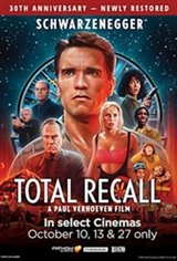 Total Recall 30th Anniversary Movie Poster