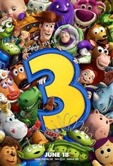 Toy Story 3 3D Movie Poster