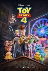 Toy Story 4 3D Movie Poster