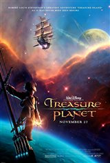 Treasure Planet Movie Poster