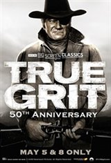 True Grit 50th Anniversary (1969) presented by TCM Large Poster