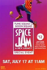 Tune vs Goon Space Jam: A New Legacy Event Movie Poster