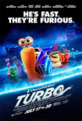 Turbo 3D Movie Poster