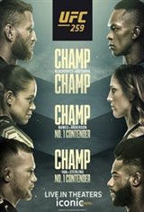 UFC 259: Blachowicz vs. Adesanya Movie Poster