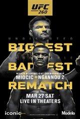 UFC 260: Miocic vs. Ngannou Affiche de film